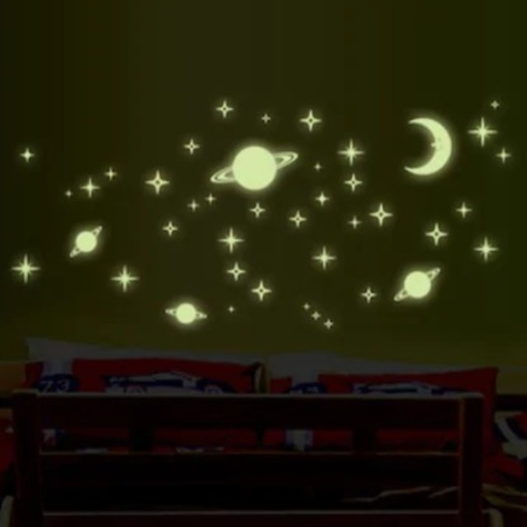 Other - Kids Glow in the Dark Wall Stickers